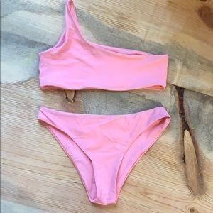 Zaful One Shoulder Bikini